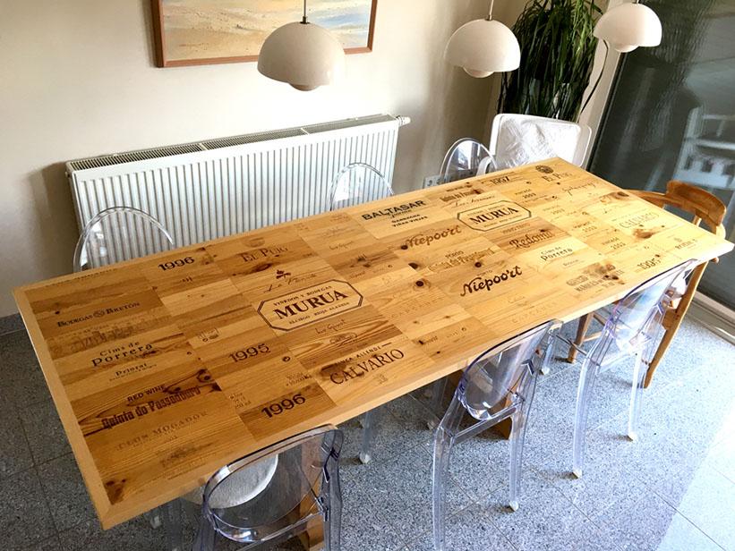 Weinkisten Tisch Ltshade